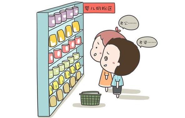 奶粉罐上有这两个标志,就可以长期给宝宝喝,但很多宝妈看都不看